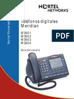 Telefonos Meridian Serie 3900