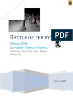 battle of the bytes