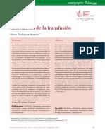 Alternativas de Transfusion