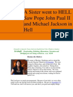 A Sister Went to HELL Saw PopeJohn Paul II and Michael Jackson in HELL