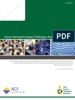 Green Nanotechnology Challenges and Opportunities