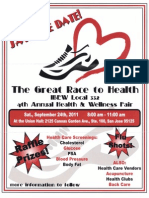 Health Fair Flyer 2011