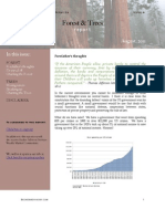 August 2011 Forest & Trees Report