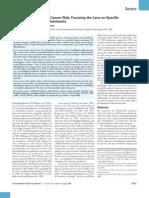 Pentachlorophenol and Cancer Risk