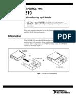 NI USB-9219