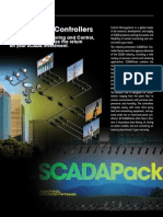 SCADAPack Product Line Comparison Brochure