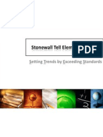 stonewall tell elementary school sip data 2011-2012