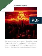 Los Angeles Nuclear Destruction Prophecies