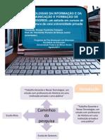 Tecnologias da informação e da comunicação e formação de professores