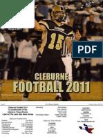 2011 Cleburne FB Tab