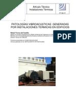 PATOLOGÍAS VIBROACUSTICAS GENERADAS