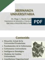 3. Gobernanza Universitaria