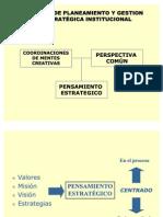 PARADIGMA DE PLANEAMIENTO Y GESTION ESTRATÉGICA INSTITUCIONAL