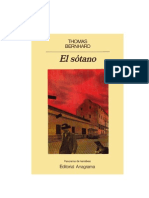 Thomas Bernhard - El sótano