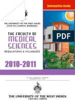 University of the West Indies- Cave Hill Campus- Faculty of Medical Sciences Handbook- 2010-2011