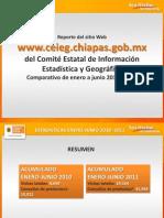 Comparativo 1er Semestre 2010-2011