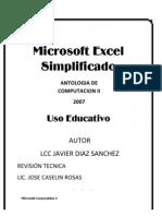 2007 Antologia Computacion II Excel