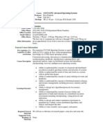 UT Dallas Syllabus for cs6378.001.11f taught by Ravi Prakash (ravip)