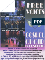 FREE VOICES - GOSPEL CHOIR IN CONCERTO