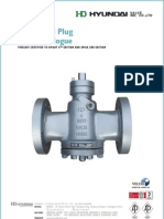 Hyundai Lubricated Plug Valves