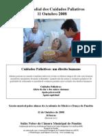 Dia Mundial Dos Cuidados Paliativos 2008 Fundão