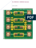 SOD323 or  SOD523 adapter