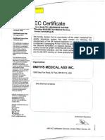 Certificados Smiths