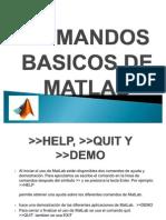 Comandos Basicos de Matlab