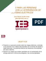 Presentacion Riesgo Electrico IEB