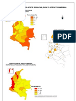 Colombia:censo 2005 etnias