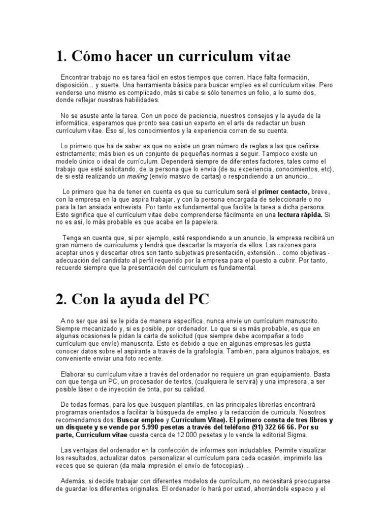 Bonito Ayuda Objetiva En Currículums Galería - Ejemplo De Colección ...