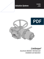 Instalación y Operación Flowserve
