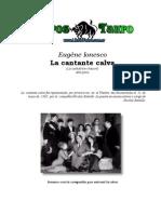 7021036 Ionesco Eugene La Cantante Calva