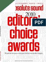 TAS-Editor Choice 2010