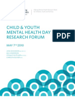 Child & Youth Mental Health Day Research Forum