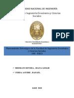 Planeamiento Estrategico :FIECS - Facultad de Ingeniería Económica y Ciencias Sociales