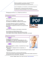 108Pedagogia Del Exito vs Didactica Del Error