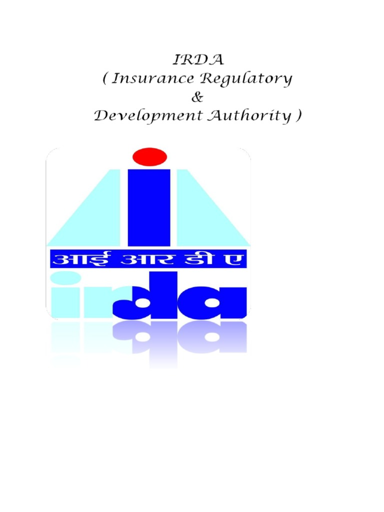 Irda | Financial Risk | Insurance