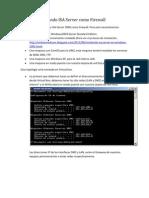 Usando ISA Server Como Firewall