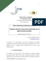 Las Ciencias en La UNAM.ponencia ABL Civilidad[1]