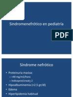 Sindrome nefrótico 2011-2