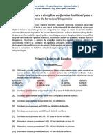 Quimica Analitica i - Exs
