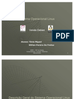 Sistema Operacional Linux Debian