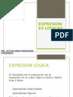 EXPRESIONES LOGICAS
