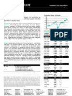 Australian Dollar Outlook 25 August 2011