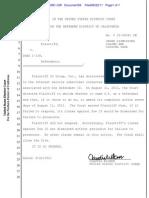 10-Cv-04381-CW Docket 56 Case Dismissed
