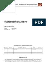 Hydro Blasting 1