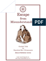 Escape From Misunderstanding (eBook)