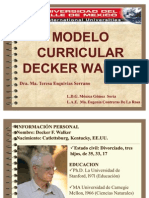 3.1.9. Modelo Curricular Decker Walker