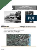 Parkesburg Train Station Renovation Planning Presentation